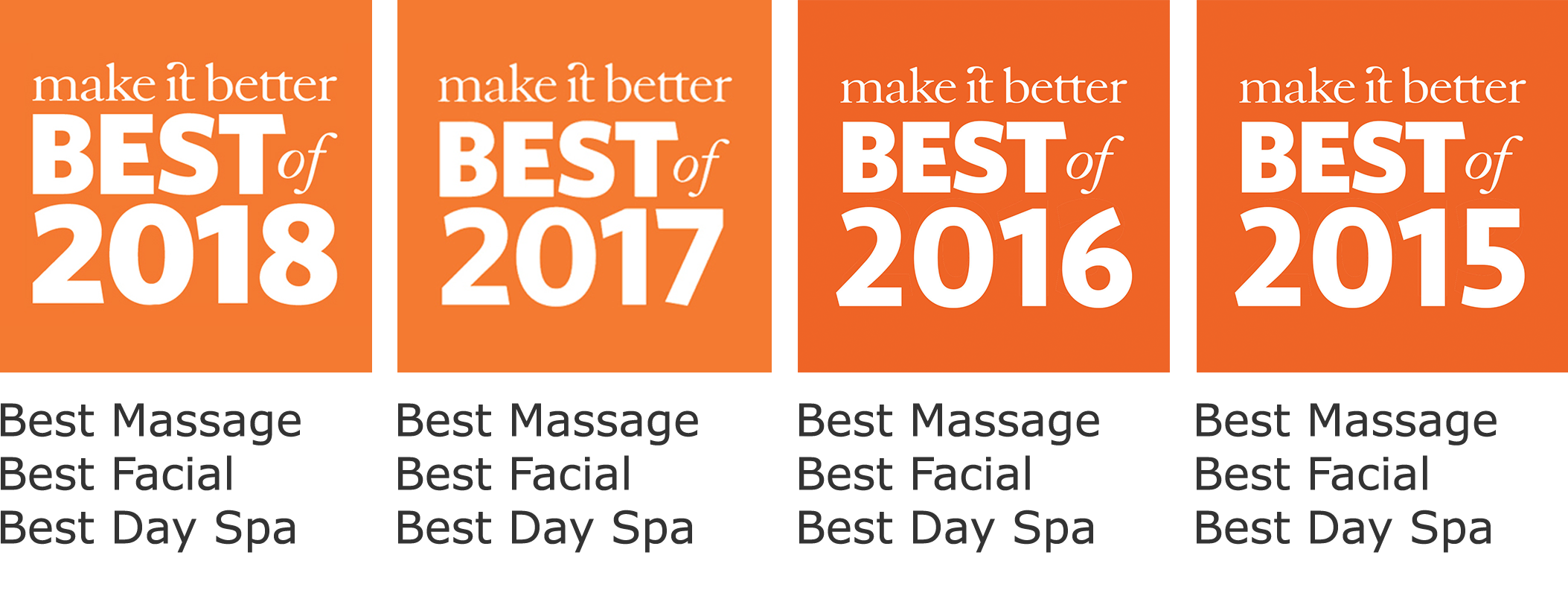 Egea Spa: Make It Better Best of 2018, 2017, 2016 & 2015